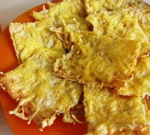 калорийность чипсов из лаваша