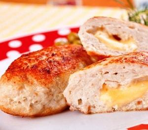 Куриная котлета с сыром калорийность