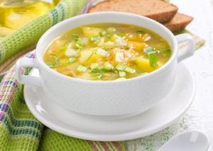 Калорийность овощного супа