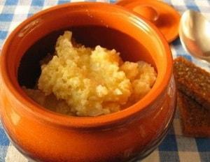 как приготовить пшеничную кашу на воде в духовке