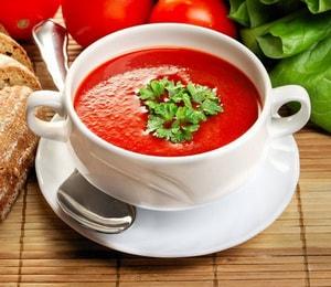 диетический суп-пюре из томатов