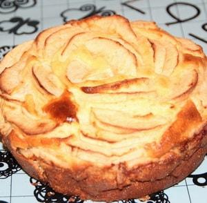 калорийность творожной запеканки с яблоками