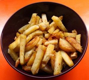 Картошка, жареная в мультиварке: классический рецепт