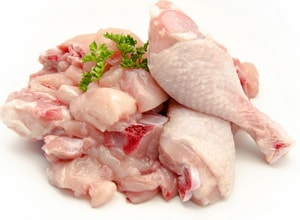 для приготовления суфле можно взять как филейную часть курицы, так и грудку