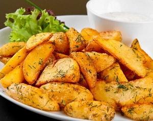 Картошка, запеченная в мультиварке