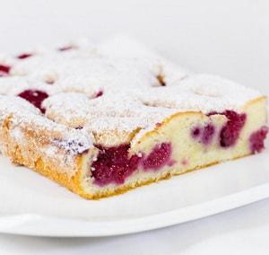 калорийность пирога с вишней