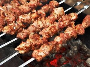 калорийность шашлыка со свинины