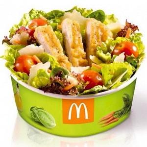 диетические блюда из меню Макдональдс