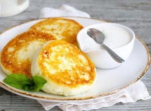 Нежнейшие сырники, которые можно есть даже на диете
