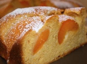 калорийность пирога с абрикосами