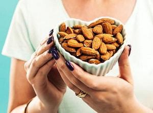 Калорийность сырого ореха миндаль