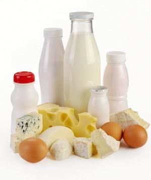 калорийность разных молочных продуктов