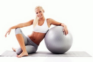 плюсы фитбола для похудения