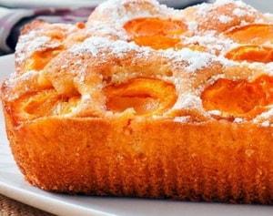 калорийность шарлотки с абрикосами