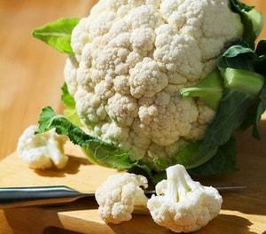 Рецепты с цветной капустой для похудения