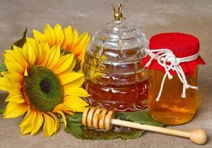 Мед, получаемый из подсолнечника