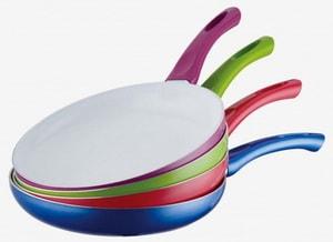 как выбрать хорошую сковороду с керамическим покрытием