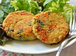Рецепты вегетарианских котлет при похудении