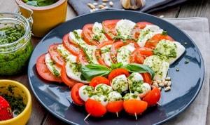 салат капрезе рецепт классический