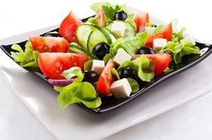 овощной салат калорийность