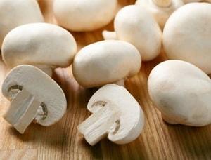 грибы для приготовления блюда
