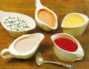 Соусы-заправки для салатов