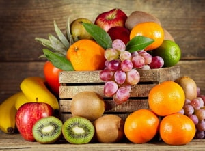 сколько калорий во фруктах