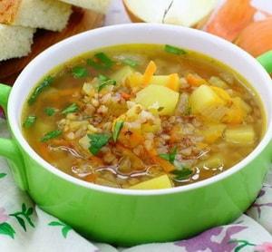Можно ли гречневый суп при диетном столе № 10