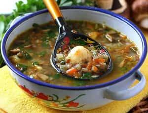 Можно ли суп при диете 7