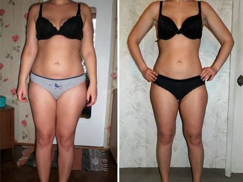 гречнева кефирная диета: фото до и после